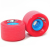 Rayne Longboards Envy Longboard Wheels 70mm 77a Red
