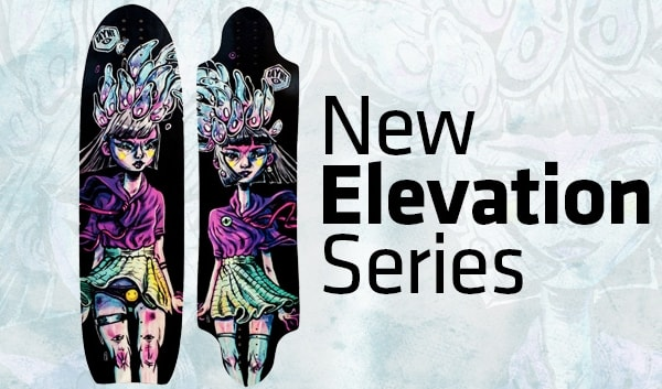 Rayne Longboards Elevation series, Vandal, Savage 2015