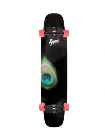 rayne whip 41 complete longboard for dancing and freestyle longboarding