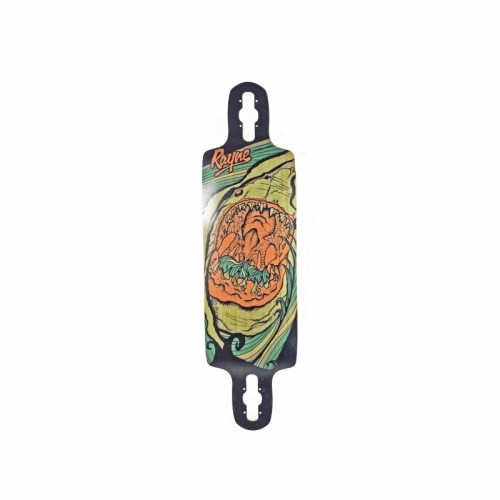 Rayne Longboards Reaper Gateway Series Downhill Longboard Bottom View