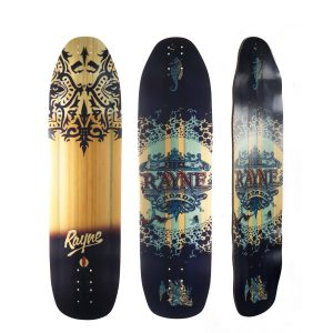 Rayne Longboards Fortune Deck in Deelite Construction
