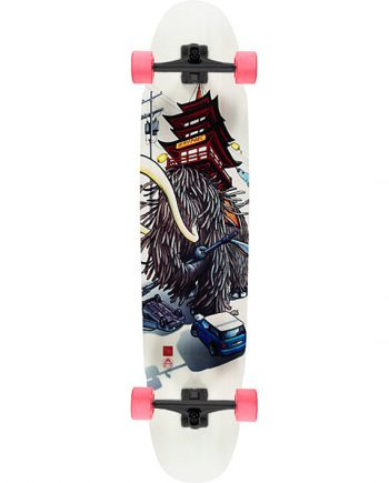 Rayne Longboards Forge Mammoth graphic complete