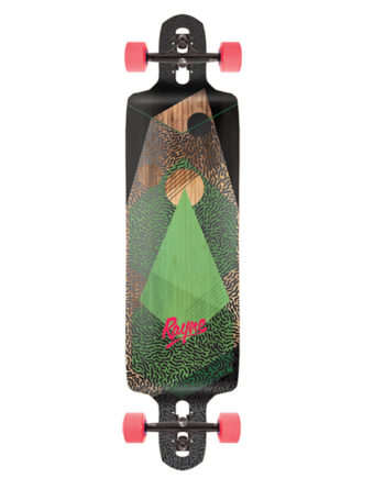 Nemesis Reaper Double Drop Through Longboard Bamboo Fiberglass The BEST for pushing and learning to slide